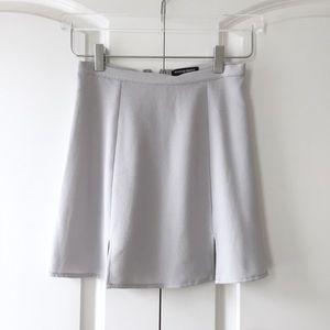 American Apparel Classic Skirt in Gray